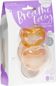 Product picture of Curaprox Baby pacifier size 2 orange Double New 2 pieces