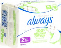 Product picture of Always Ultra Binde Cotton Protection Long with wings 10 pieces