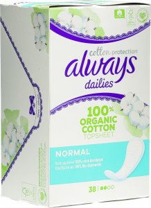 Product picture of Always Panty liner Cotton Protection Normal 38 pieces