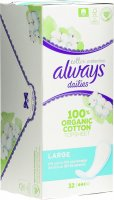 Product picture of Always Panty liner Cotton Protection large 32 pieces