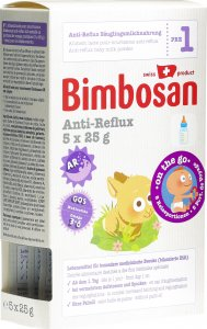 Product picture of Bimbosan Anti-Reflux 1 Infant Formula On The Go Travel 5x 25