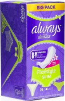 Product picture of Always Slipeinlage Slim Multiform Fresh Scent Big Pack 74 Stück