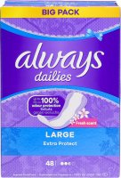 Immagine del prodotto Always Panty Liner Extra Protection Large Bigpack 48 pezzi
