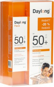 Produktbild von Daylong Protect&care Lotion SPF 50+ 200ml + Face 50ml