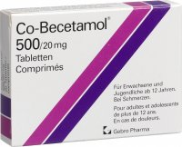 Co Becetamol Tabletten 500mg 20 Stück