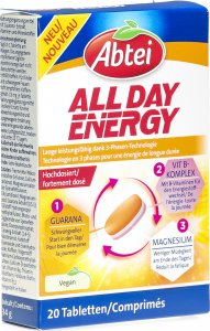 Product picture of Abbey All Day Energy Tablets Blister 20 pieces