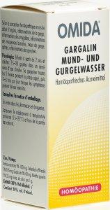 Immagine del prodotto Omida Gargalin Mund- und Gurgelwasser Flasche 60ml