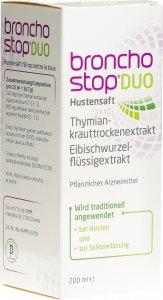 Immagine del prodotto Bronchostop Duo Hustensaft Flasche 200ml