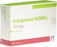 Immagine del prodotto Aripiprazol Nobel Tabletten 10mg 98 Stück