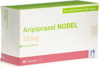 Immagine del prodotto Aripiprazol Nobel Tabletten 15mg 98 Stück