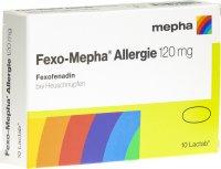 Immagine del prodotto Fexo Mepha Allergie Lactab 120mg 10 Stück