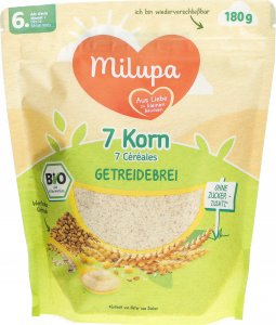 Product picture of Milupa Bio 7 Grain from the 6th month 180g