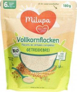 Product picture of Milupa Organic Wholegrain Flakes from the 6th month 180g