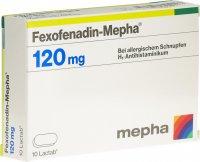 Immagine del prodotto Fexofenadin Mepha Lactab 120mg 10 Stück