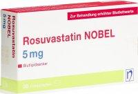Immagine del prodotto Rosuvastatin Nobel Filmtabletten 5mg 30 Stück