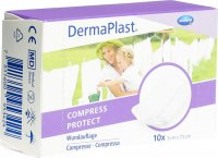 Product picture of Dermaplast Compress Protect 5x7.5cm 10 Pieces
