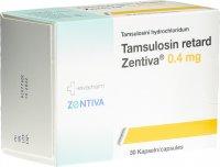 Immagine del prodotto Tamsulosin Retard Zentiva Retard Kapseln 0.4mg 30 Stück