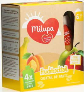 Product picture of Milupa Pouch Fruit Cocktail from the 4th month 4x90g