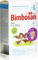 Product picture of Bimbosan Bio 1 Infant Milk Travel Portion 5x 25g