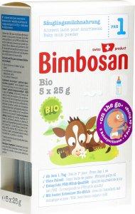 Product picture of Bimbosan Bio 1 Infant Milk Travel Portion 5x 25g