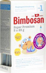 Immagine del prodotto Bimbosan Super Premium 1 Latte per Neonati Porzione da Viaggio 5x 25