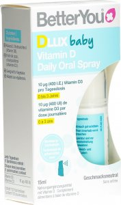 Immagine del prodotto BetterYou Dlux Baby Vitamina D Spray orale giornaliero 15ml