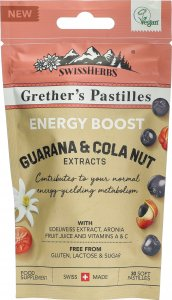 Product picture of Swissherbs Grether's Energy Boost pastilles without sugar 45g
