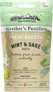 Immagine del prodotto Swissherbs Grether's Fresh Breath pastilles senza zucchero 45g