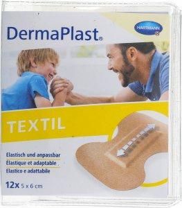 Immagine del prodotto Dermaplast Textil Cerotti per Vesciche per la Punta del Dito 5x6cm 12 Pezzi
