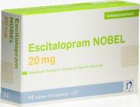 Immagine del prodotto Escitalopram Nobel Filmtabletten 20mg 14 Stück