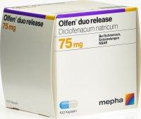 Immagine del prodotto Olfen Duo Release Kapseln 75mg (neu) 100 Stück