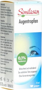 Product picture of Similasan Eye Drops 0.1% Hyaluron 10ml