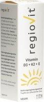 Image du produit Regiovit Vitamin D3 + K2 + E Tropfen 27g