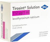 Immagine del prodotto Tirosint Solution 112mcg 30 Ampullen 1ml
