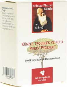 Immagine del prodotto Künzle Venenbeschwerden Pinus Pygenol 120 Stück