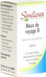 Immagine del prodotto Similasan Reise-Beschwerden N Globuli Flasche 15g