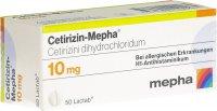 Immagine del prodotto Cetirizin Mepha Lactab 10mg (neu) 50 Stück