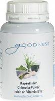 Image du produit Goodness Chlorella Pulv Vit B12 Kapseln 600mg 90 Stück