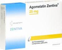 Immagine del prodotto Agomelatin Zentiva Filmtabletten 25mg 28 Stück