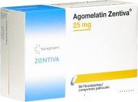 Immagine del prodotto Agomelatin Zentiva Filmtabletten 25mg 98 Stück