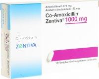 Immagine del prodotto Co-amoxicillin Zentiva Filmtabletten 1000mg 12 Stück