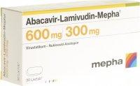 Immagine del prodotto Abacavir Lamivudin Mepha Lactab 600/300mg 30 Stück