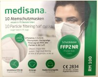 Product picture of Medisana Respirator FFP2 RM100 10 pieces