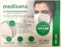 Immagine del prodotto Medisana Maschera respiratoria FFP2 RM100 10 pezzi