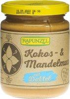 Image du produit Rapunzel Kokos-Mandelmus mit Dattel Glas 250g