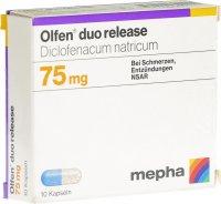 Immagine del prodotto Olfen Duo Release Kapseln 75mg (neu) 10 Stück