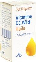 Immagine del prodotto Vitamin D3 Wild Öl 500 Ie/tropfen 10ml