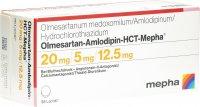 Immagine del prodotto Olmesartan Amlo HCT Mepha Lactab 20/5/12.5 98 Stück