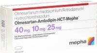 Immagine del prodotto Olmesartan Amlo HCT Mepha Lactab 40/10/25 28 Stück