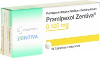 Immagine del prodotto Pramipexol Zentiva Tabletten 0.125mg 30 Stück